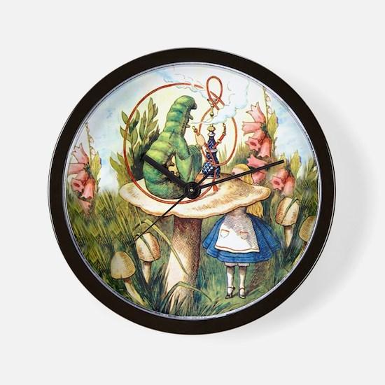 Alice Seeks Advice From the Caterpillar Wall Clock