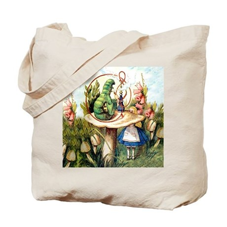 Alice Seeks Advice From the Caterpillar Tote Bag