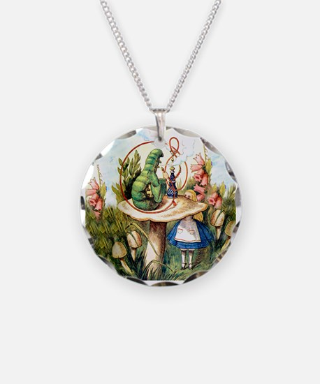 Alice Seeks Advice From the Caterpillar Necklace