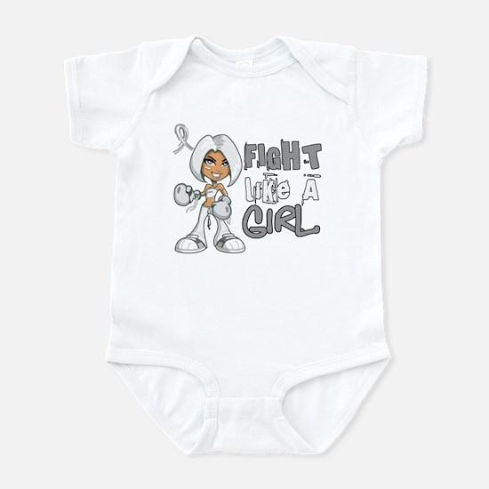 Licensed Fight Like a Girl 42.8 Bo Infant Bodysuit