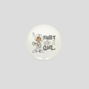 Licensed Fight Like a Girl 42.8 Bone C Mini Button