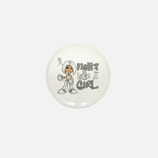 Licensed Fight Like a Girl 42.8 Bone C Mini Button