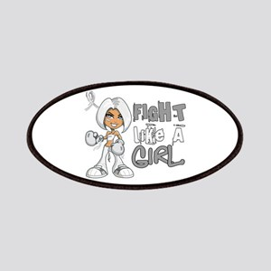 Licensed Fight Like a Girl 42.8 Bone Cance Patches