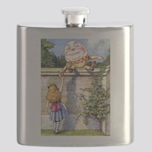 Alice and Humpty Dumpty Flask