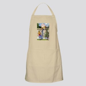 Alice and Humpty Dumpty Apron