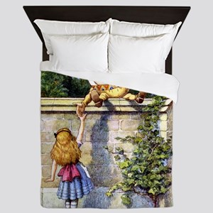 Alice and Humpty Dumpty Queen Duvet