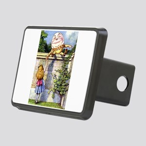 Alice and Humpty Dumpty Rectangular Hitch Cover