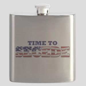 Secede Flag Flask