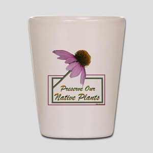 Native Plants Shot Glass