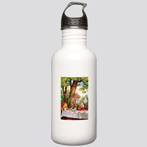Mad Hatter's Tea Party Stainless Water Bottle 1.0L