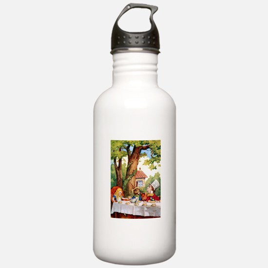 Mad Hatter's Tea Party Water Bottle