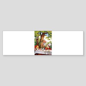 Mad Hatter's Tea Party Sticker (Bumper)