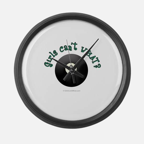 Eight-Ball.png Large Wall Clock