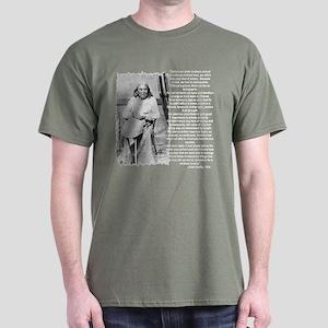 """""""Chief Seattle"""" Dark T-Shirt"""