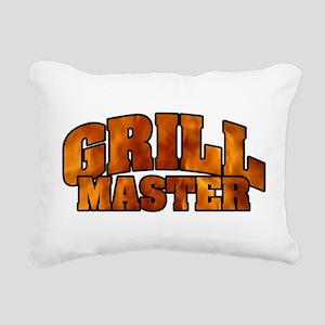 Grill Master Rectangular Canvas Pillow