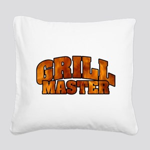 Grill Master Square Canvas Pillow