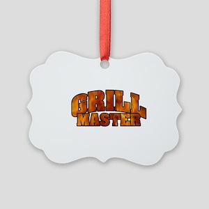 Grill Master Picture Ornament