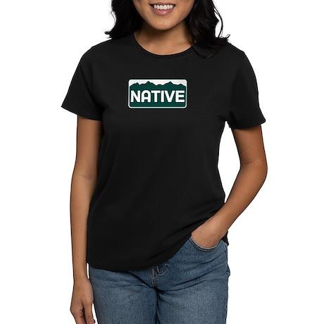 CO - Colorado - Native Women's Dark T-Shirt
