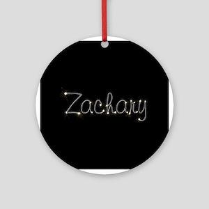 Zachary Spark Ornament (Round)