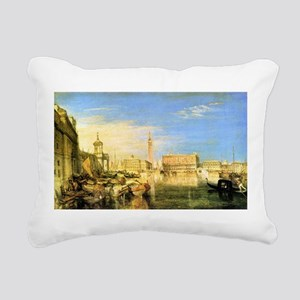 William Turner Venice Rectangular Canvas Pillow