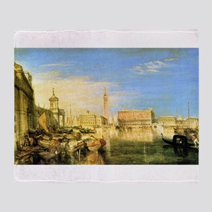 William Turner Venice Throw Blanket