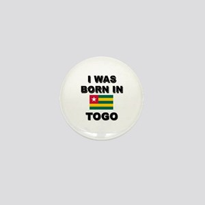 I Was Born In Togo Mini Button