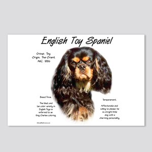 English Toy (king charles Postcards (Package of 8)