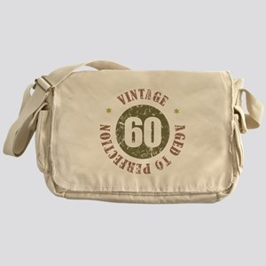 60th Vintage birthday Messenger Bag