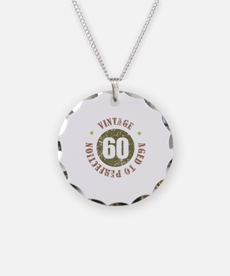 60th Vintage birthday Necklace