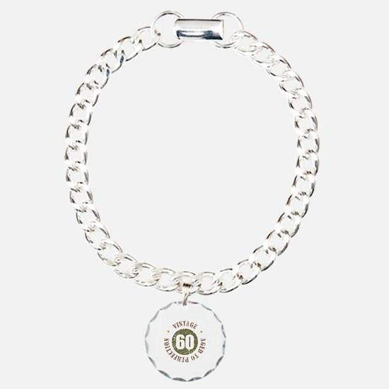 60th Vintage birthday Bracelet