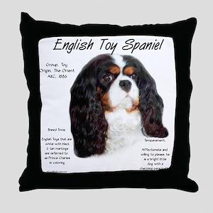 English Toy (prince charles) Throw Pillow
