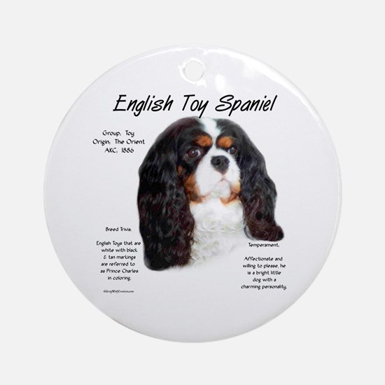 English Toy (prince charles) Round Ornament