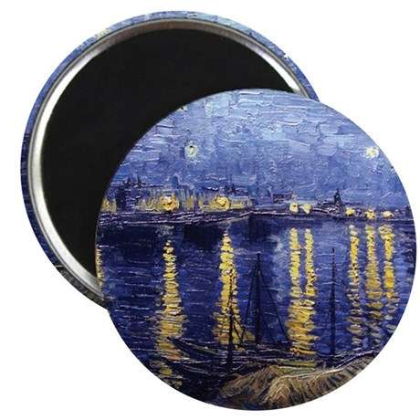 Starry Night Over the Rhone Magnet