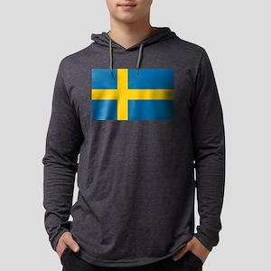 Sweden - National Flag - Current Mens Hooded Shirt