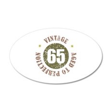 65th Vintage birthday Wall Decal