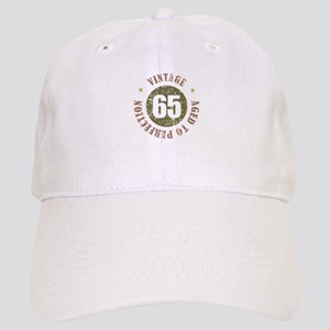 65th Vintage birthday Cap