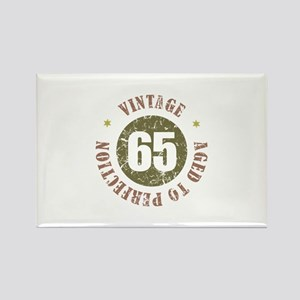 65th Vintage birthday Rectangle Magnet