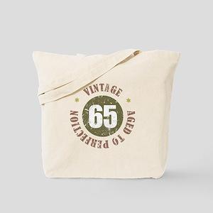65th Vintage birthday Tote Bag