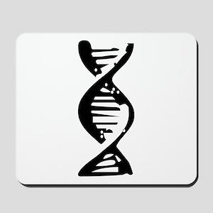 DNA Double Helix Symbol Mousepad