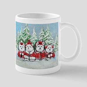 Westie Christmas Mug