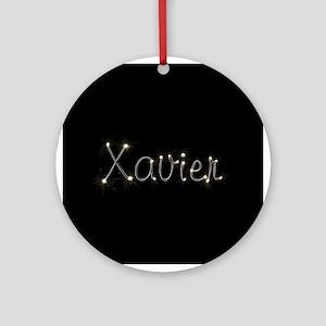 Xavier Spark Ornament (Round)