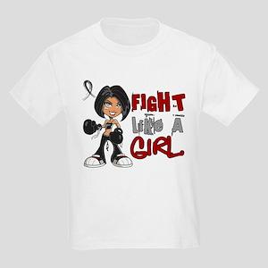 Licensed Fight Like a Girl 42.8 Kids Light T-Shirt