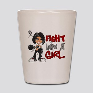 Licensed Fight Like a Girl 42.8 Narcole Shot Glass