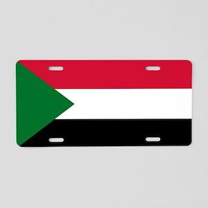 Sudan - National Flag - Current Aluminum License P