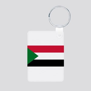 Sudan - National Flag - Current Aluminum Photo Key