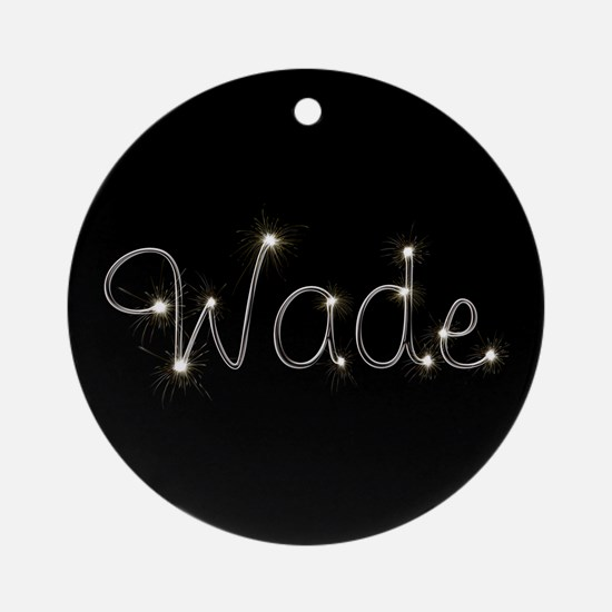 Wade Spark Ornament (Round)