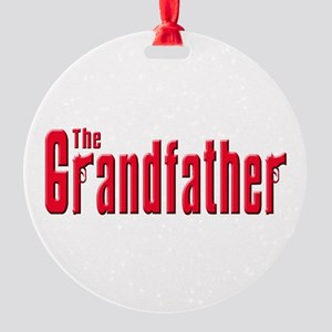 The Grandfather Round Ornament