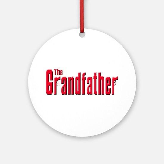 The Grandfather Ornament (Round)