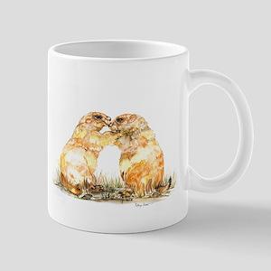 prariedogs kiss Mug