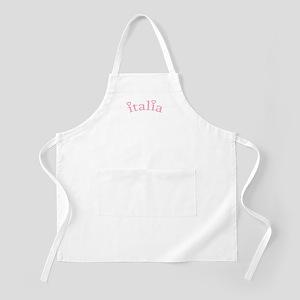 """Italia with Hearts"" BBQ Apron"